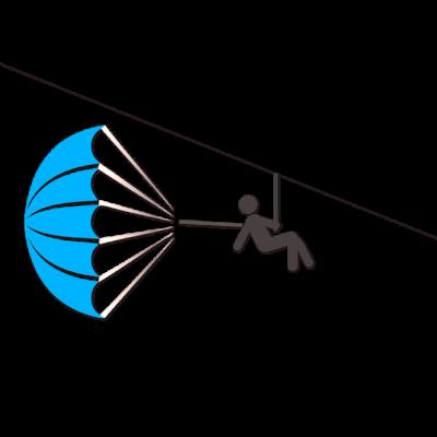 Parachute de secours-Drones
