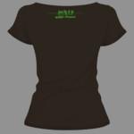tee shirt noir addict parapente ile de la reunion