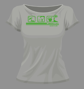 tee shirt addict parapente ile de la reunion