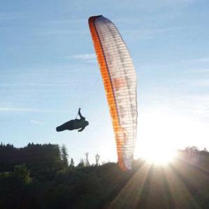 aile de parapente en vol aspen 6